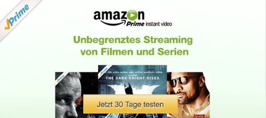 Aktuell im Test - Amazon Instant Video